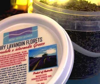 Dry Lavandin Florets – L. x intermedia spp. 100g IMG 1