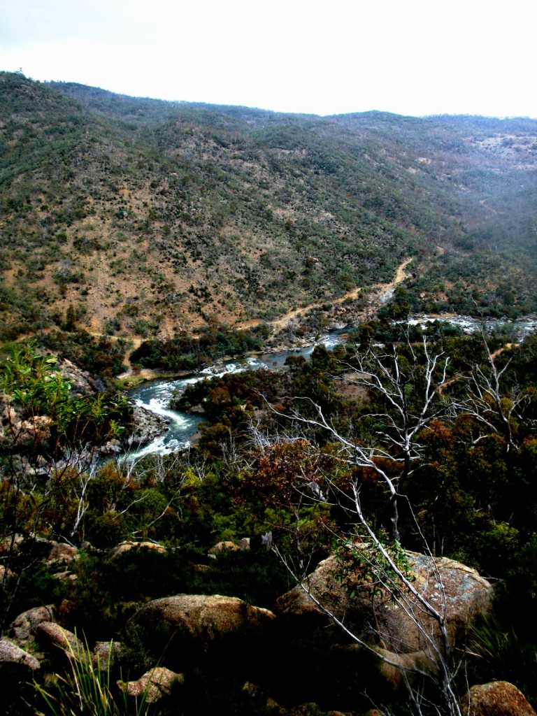 The meander of the Snowy River